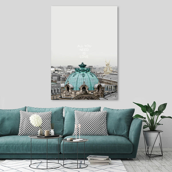 City Modern Canvas Print Painting Travel Wall Art Picture Home Decor Unframed Paintings - Slabiti