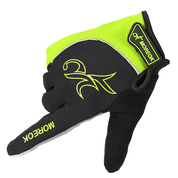 Reflection Warm Full Finger Gloves Touch Screen Motorcycle Bicycle Racing Outdoor Sports - Slabiti