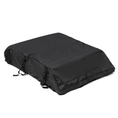 51x39x17  20 Cubic Car Cargo Roof Bag Waterproof Rooftop Luggage Carrier Black - Slabiti