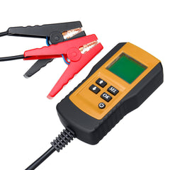 12V AE300 Digital LCD Battery Load Tester Analyzer Diagnostic Tool For Auto Car Motorcycle - Slabiti