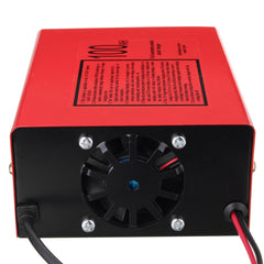 12/24V 10A 140W Car Motorcycle Lead Acid Red Battery Charger Full Automatically - Slabiti