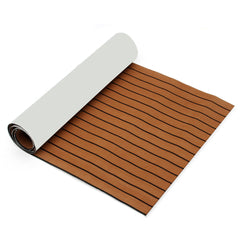 2700x900x6mm Adhesive Marine Flooring EVA Foam Boat Decking Yacht Carpet Sheet - Slabiti