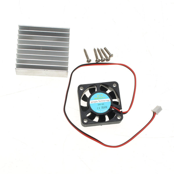5pcs Original Hiland Heat Sink + Cooling Fan + Mounting Screws Kit For 0-30V 0-28V Power Supply