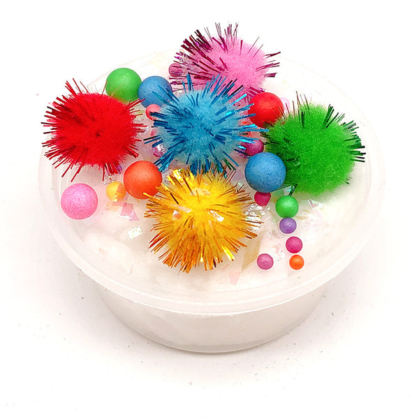 100ML Slime Brushed Cotton Mud Christmas Balls Silk Mud Plasticine Clay Toys - Slabiti