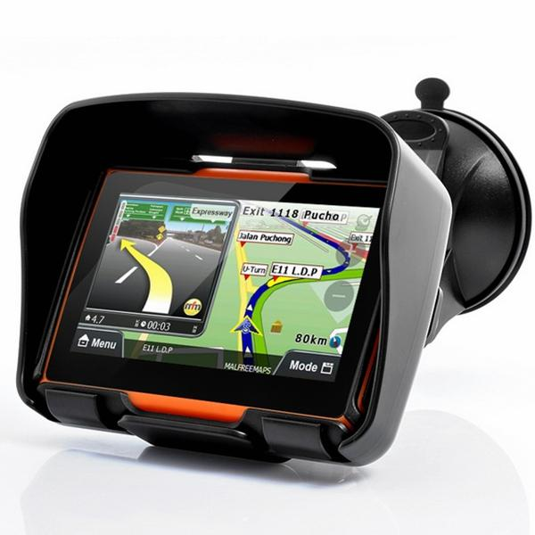Car Motorcycle Waterproof Dustproof Shockproof Portable GPS Navigation - Slabiti
