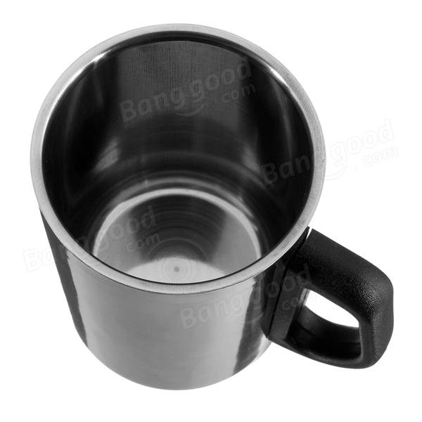 350ml Stainless Steel Insulated Tea Cup Thermal Coffee Milk Water Thermos Mug - Slabiti