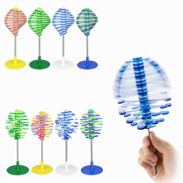 Revolving Lollipop Creative Decompression Art Lollipopter Helicone Children's Toys Desk Decor - Slabiti