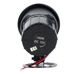12V 50W Truck Motorcycle 6 Sound Hand Megaphone Warning Alert Speaker Car Snail Air Horn - Slabiti
