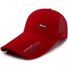 Mens Womens Summer Mesh Strapback Dad Hats Embroidered Sport Snapback Baseball Cap - Slabiti