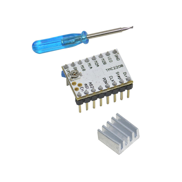 Geeetech Ultra-quiet TMC2208 Stepper Motor Driver + Heatsink + Screwdriver Kit For 3D Printer - Slabiti