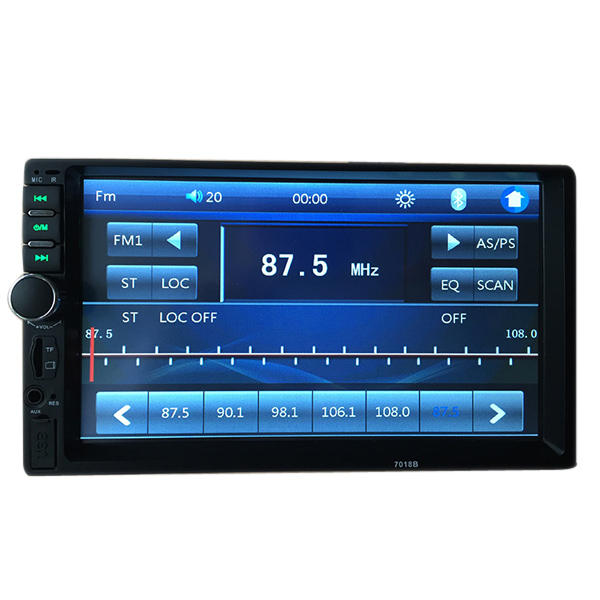 7018B 7 Inch HD bluetooth Car Stereo Touch Screen MP5 MP4 Display Long Version support Rear View - Slabiti