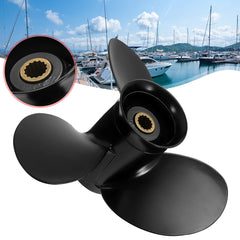 Aluminum Outboard Propeller 9.25 x 10.5 For Tohatsu 9.9HP-18HP Outboard - Slabiti