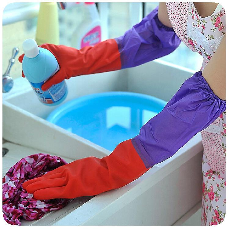 Cooking Dish Washing Glove Waterproof Kitchen Tools - Slabiti