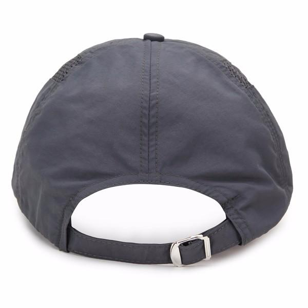 Men Hat Breathable Polyester Acrylic Outdoor Sports Golf Mesh Baseball Cap - Slabiti