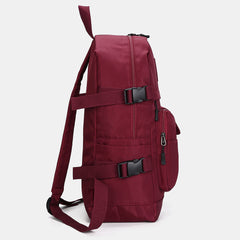 Women Nylon Multi-Pocket Casual Backpack School Bag - Slabiti