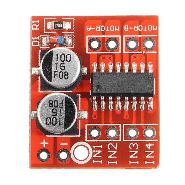 10pcs Dual Channel L298N DC Motor Driver Board PWM Speed Dual H Bridge Stepper Module - Slabiti