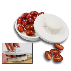 KCASA Rapid Slicer Food Cutter Slice Tomatoes Vegetables In Seconds Non-Slip Fruit Slicing Tools - Slabiti