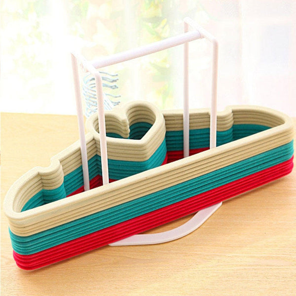 Creative Clothes Hanger Storage Rack Multifunctional Clothespin Oraganizer Holder - Slabiti