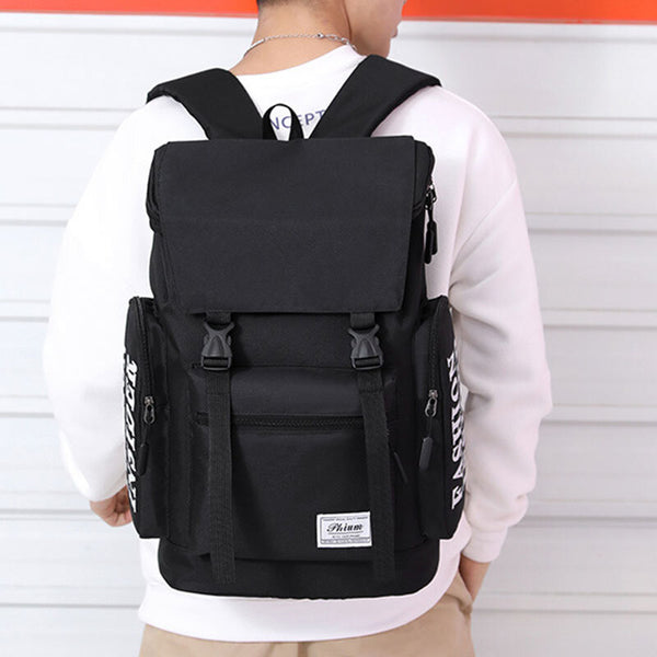 Men Large Capacity Light Weight Anti-Theft Backpack For Business Outdoor - Slabiti