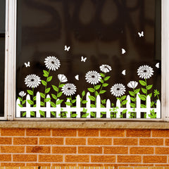 Miico SK7189 Glass Door And Window Sticker Decorative Stickers Wall Sticker DIY Stickers - Slabiti