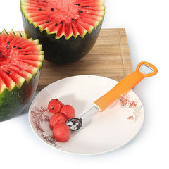 KCASA KC-MS056 3 In 1 Fruit Watermelon Ice Cream Dig Ball Spoon Corkscrew Red Wine Beer Opener