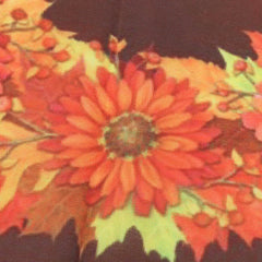 12.5''x18'' Fall Wreath Garden Flag Welcome Autumn Leaves Floral Briarwood Lane Decorations - Slabiti