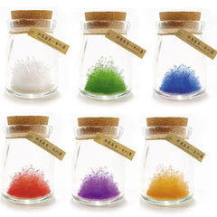 Growing Crystal Crazy Fun Gift DIY Wishing Wizard Bottle Shinny Decor Toys - Slabiti