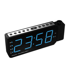 Alarm Clock Projector LED Digital Display Temperature Snooze FM Radio Projector Clock - Slabiti