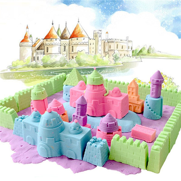 120g Magic Motion Colorful Sand Kid Child DIY Indoor Play Craft Non Toxic Toys - Slabiti
