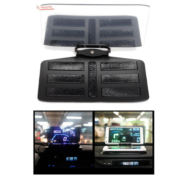 Car HUD GPS Navigation Mobile Phone Bracket Head Up Projector Holder Display - Slabiti