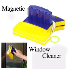 Magnetic Window Wizard Double Side Glass Wiper Cleaner Useful Surface Cleaning Brushes