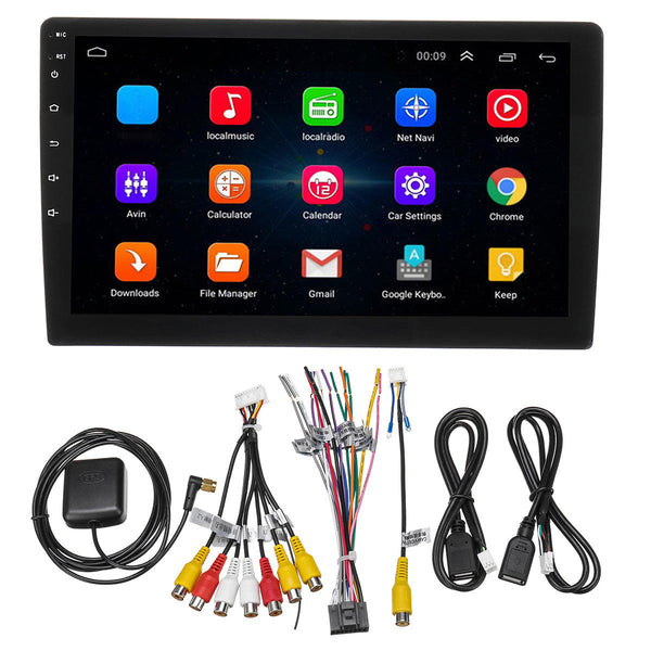 9Inch 10Inch for Android 8.0 Car Radio Stereo 1Din Adjustable Touchscreen 8 Core 2GB+32GB GPS Navigation Wifi AM - Slabiti