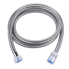 1.5m Flexible Handheld Shower Head Hose Dense Structure Stainless Steel 360 Rotatable Connector - Slabiti