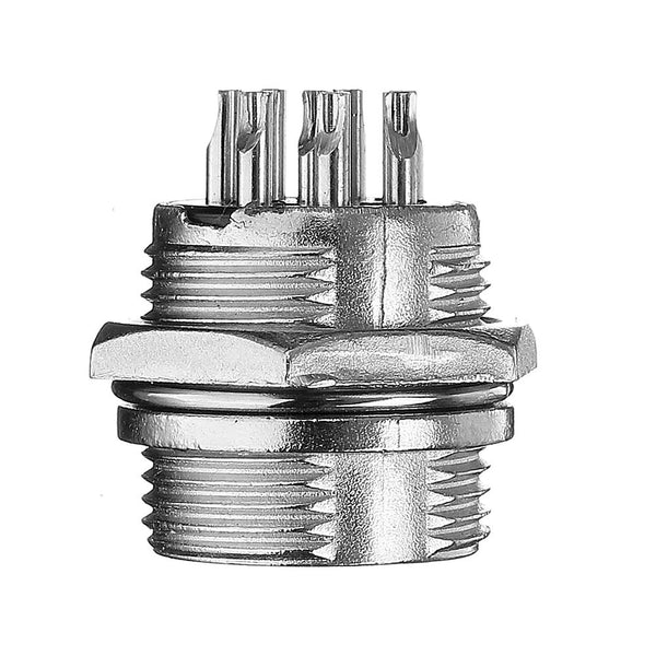 5Set GX16-8 Pin Male And Female Diameter 16mm Wire Panel Connector GX16 Circular Aviation Connector Socket Plug