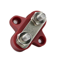 M6 Bus Bar Marine Terminal Junction Block Positive Power Distribution Studs Boat 1/4 - Slabiti