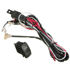 LED Light Rocker Switch ON/OFF Wiring Harness With Relay Fuse CE - Slabiti