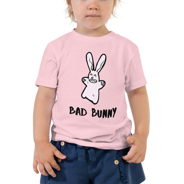 Toddler Short Sleeve Tee Bad Bunny - Slabiti