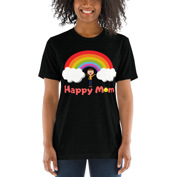 Short sleeve t-shirt Happy Mom - Slabiti