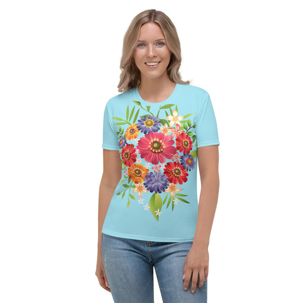 Women's T-shirt Floral design - Slabiti