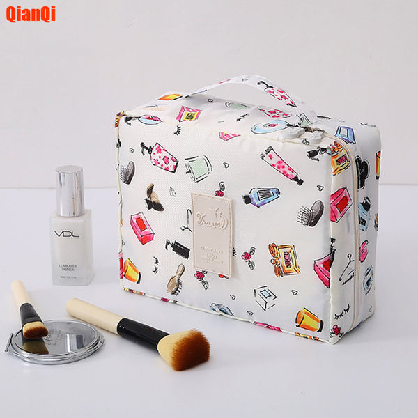 Multifunction travel Cosmetic Bag Neceser Women Makeup Bags Toiletries Organizer Waterproof Female Storage Make up Cases - Slabiti