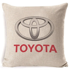 RECOLOUR 2019 New Car Brand  square Linen Cushion  cover for home Decorative Printed  pillow  cover 18x18in sofa cojines - Slabiti