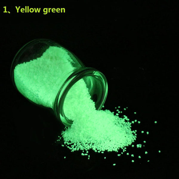 Luminous Sand Stones Garden Park Road In Dark Colorful Fluorescent Super luminous Particles Glow Pigment Bright Glow Sand - Slabiti