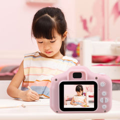Kids Mini Camera Toy Cute Camcorder Rechargeable Digital Camera with 2 Inch Display Screen Children Educational Toy Outdoor Play - Slabiti