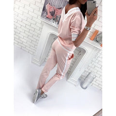 Z&P 2019 Autumn Winter Fashion Women set Clothing Casual Women sweatshirt +pants 2 pieces Set tracksuit hoodie Casual Warm Suit - Slabiti