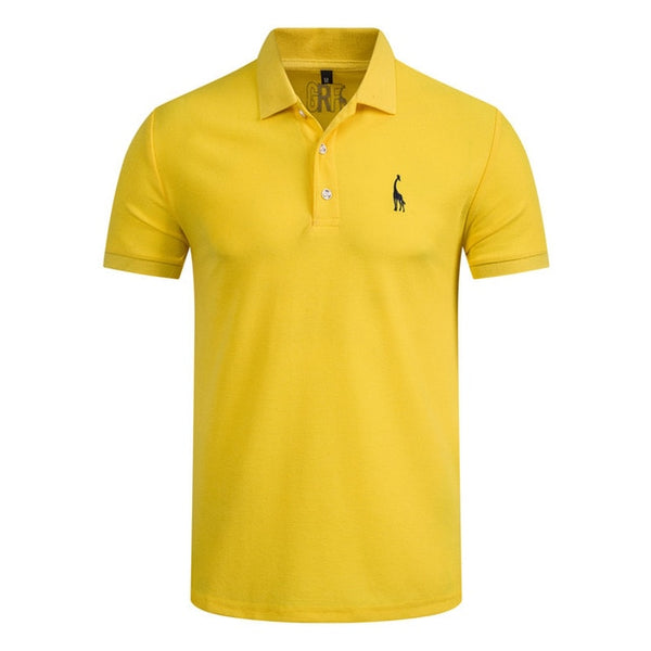 GustOmerD 2019 Brand Quality Cotton Polo Shirt - Slabiti