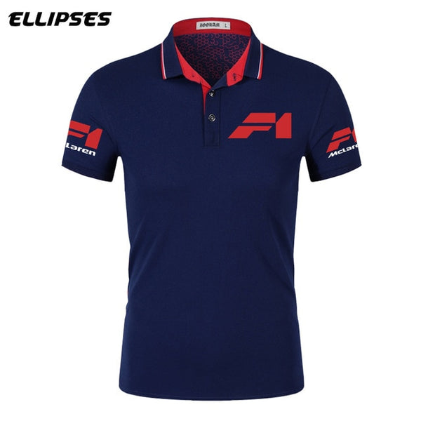 McLaren Polo Shirt for Man Summer McLaren Logo Polo Shirt Short Sleeve - Slabiti