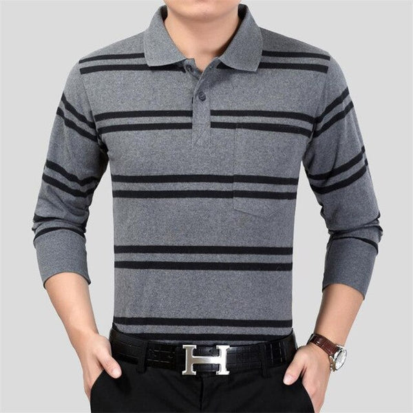 2019 Men Polo Shirt Brand Clothing Pure Cotton Men Business Casual Male Polo Shirt - Slabiti