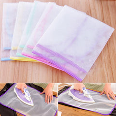 1pcs Protective Ironing Cloth High temperature Board Press Iron Mesh Insulation Pad Guard Protection Clothing Home Accessories - Slabiti