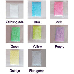 1Bag Colorful Fluorescent Glow Powder Super luminous Particles Sand Glow Pigment Glow in the Dark Home Party Decor #20 - Slabiti