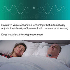 Easeful Snore stopper Anti Snore Prevents Smart Anti-Snoring Muscle Stimulator Sleep Snoring Solution prevent Sleep Apnea CPAP - Slabiti
